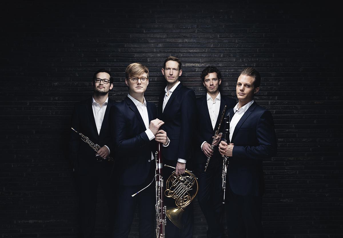 Fredag d. 16. juli Carl Nielsen Kvintetten